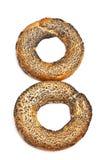 Doughnut-shaped Bread Rolls Royalty Free Stock Photography