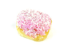 Doughnut and sugar coconut Stock Images