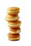 Doughnut van brood Royalty-vrije Stock Foto's