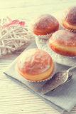 Doughnut - vintage style Stock Photography