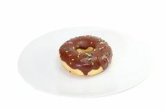 Doughnutchocolade Stock Foto