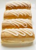 Doughnuts κρέμας Στοκ Φωτογραφία