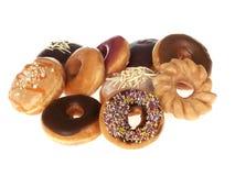 doughnuts μικτά Στοκ εικόνα με δικαίωμα ελεύθερης χρήσης