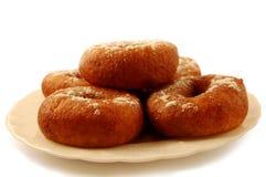 doughnuts πιάτο Στοκ φωτογραφία με δικαίωμα ελεύθερης χρήσης