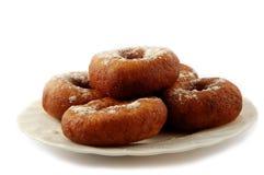 doughnuts πιάτο Στοκ εικόνες με δικαίωμα ελεύθερης χρήσης