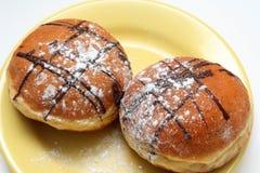 doughnuts σοκολάτας στοκ εικόνες
