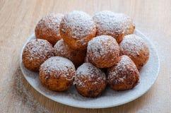 Doughnuts τυριών στάρπης στοκ φωτογραφία