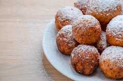 Doughnuts τυριών στάρπης στοκ εικόνα με δικαίωμα ελεύθερης χρήσης
