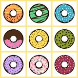 doughnuts stock illustratie