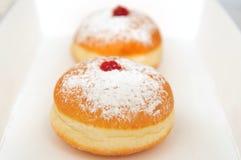 Doughnuts in een doos Royalty-vrije Stock Afbeelding