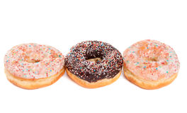 Doughnuts isolated Royalty Free Stock Photography