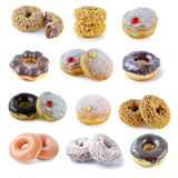 Doughnuts on a white background Stock Photography