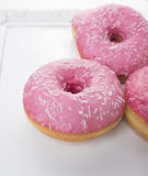 Doughnuts withglaze Stock Photo