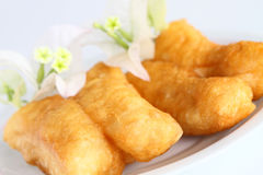 doughstick που τηγανίζεται βαθύ Στοκ εικόνα με δικαίωμα ελεύθερης χρήσης
