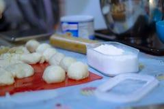Dought die brood maken Stock Foto