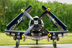 DOUGLAS AD-4 SKYRAIDER Royalty Free Stock Images