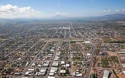 Douglas, Arizona. Looking south into Mexico from Douglas, Arizona royalty free stock photo