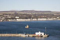 Douglas Bay Isle av mannen royaltyfria foton