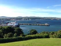 Douglas Bay, Isle of Man stockfotos