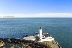 Douglas Bay und Irischer See Isle of Man stockbild