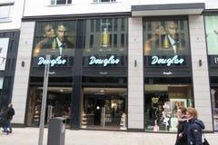 Douglas brand store in Leipzig Stock Images