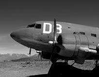 Douglas C-47. (DC-3) transport, WW2 vintage Royalty Free Stock Photos