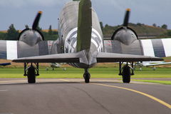 Douglas C-47 Dakota aircraft Royalty Free Stock Images