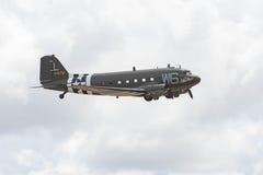 Douglas C-47B Skytrain DC-3 na pokazie Zdjęcia Stock