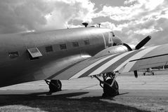 Douglas c-47a dakota Fotografia de Stock Royalty Free