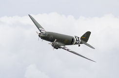 Douglas C-47 Dakota with D-Day markings Stock Image