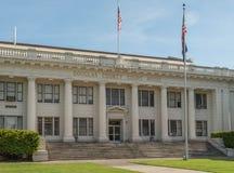Douglas County Courthouse i Roseburg, Oregon Arkivbilder