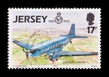 Douglas Dakota-Flugzeuge Lizenzfreies Stockbild