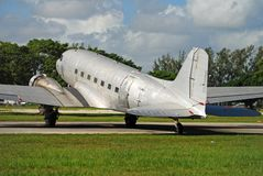 Douglas DC-3 airplane Stock Images