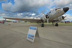 Douglas DC-3, C-47A Skytrain/ Zdjęcia Stock