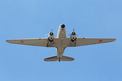 Douglas DC-3, C-47A Skytrain/ Zdjęcia Royalty Free