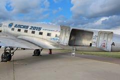 Douglas DC-3 / C-47A Skytrain aircraft Stock Images
