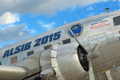 Douglas DC-3, C-47A Skytrain samolot/ Fotografia Royalty Free