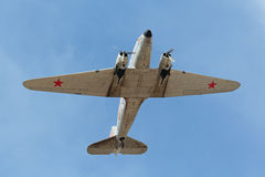 Douglas DC-3 / C-47A Skytrain Royalty Free Stock Photo