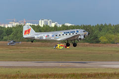 Douglas DC-3 / C-47A Skytrain Royalty Free Stock Images