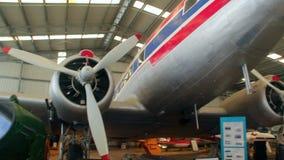 Douglas DC3 Exterior 3 stock video