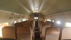 Douglas DC3 Interior 1 stock video footage