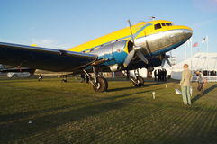 Douglas DC3 plane Stock Photography