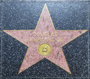 Douglas Fairbanks star on Hollywood Royalty Free Stock Image
