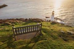 Douglas Head Lighthouse lizenzfreie stockfotos