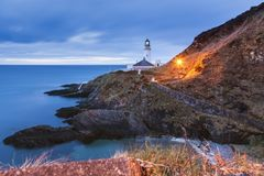 Douglas Head Lighthouse stockfotografie