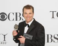 Douglas Hodge Wins en 64.o Tonys anual en 2010 Imagenes de archivo
