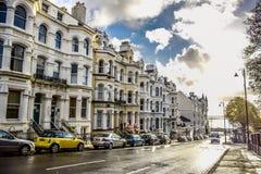 Douglas, Isle of Man-` s Straßen-Ansicht Lizenzfreie Stockfotografie