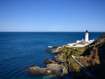 Douglas Lighthouse auf Isle of Man stockfoto