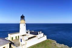 Douglas Lighthouse auf Isle of Man stockbild