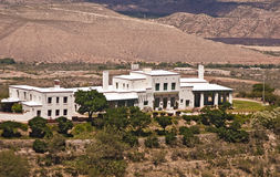 Douglas Mansion - Jerome State Park. Douglas Mansion serves as the Visitor Center and Museum at Jerome State Park, site of an old copper mine at Jerome, Arizona Stock Image